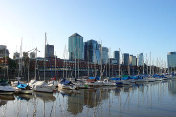 Buenos Aires City Tour with Boat Navigation with lunch and Dinner Tango Show