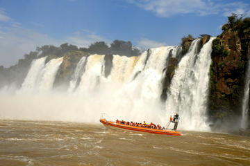 Full Day Iguazu Falls Argentian, Brazilian Side with Boat Ride to Devils Throat