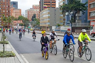 Sunday's Ciclovia Bike Ride
