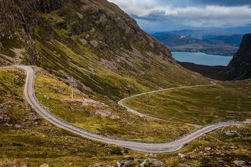 Applecross from Kyle of Lochalsh with...