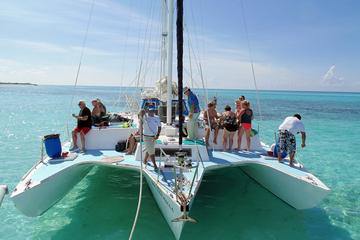 Private Catamaran Sail and Snorkel Tour in Cozumel