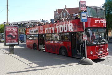 Tallinn City Tour Hop On Hop Off Red Bus Tour