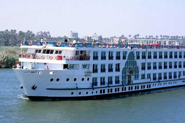 5 days 4 nights Nile Cruise from Luxor to Aswan included sleeper train ticktes