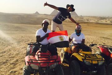 ATV  at Giza Pyramids
