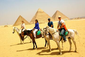 Book online Horse Ride at Giza Pyarmids During Sunrise