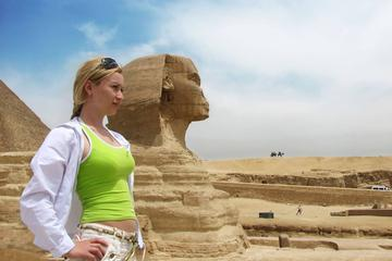 Full day tour to Giza pyramids and the sphinx  Sakkara and Memphis