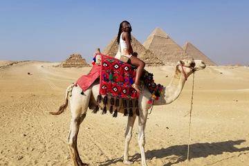 Full day Visit Giza Pyramids ,Egyption museum and  Khan El Khalily Bazar , Lunch