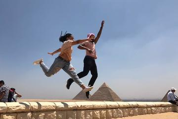 Layover Half Day tour to Giza Pyramids and Sphinx with Camel Ride