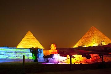 sound and light show at Giza Pyramids with Dinner