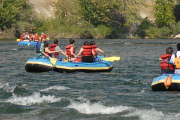 Day Trip Wenatchee River Family Float trip near Wenatchee, Washington