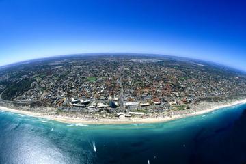 Helikoptertur over Perths strande og...