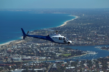 Passeio de helicóptero em Perth