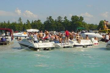 Island-Hopping-Bootstour von Miami Beach