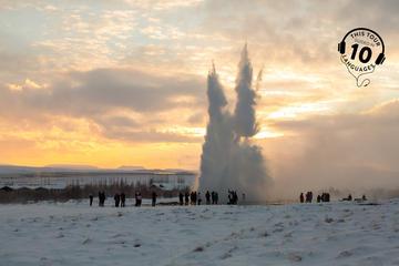 Golden Circle Classic-Tagestour ab Reykjavik mit Reiseleiter und...