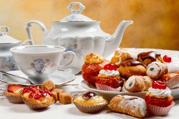 Chá da tarde em Londres na Grosvenor House