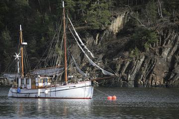 Noorse avondrondvaart door een fjord