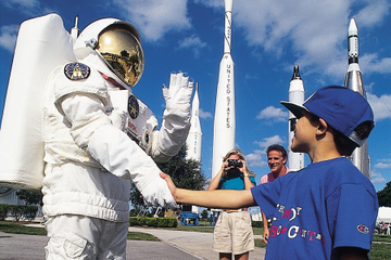 Kennedy Space Center ved Cape Canaveral
