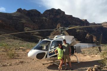 Outdoor Shooting Range and Grand Canyon Helicopter Tour from Las...