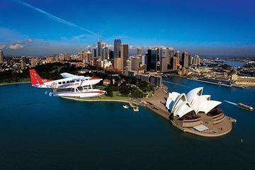 水上飛行機によるシドニー遊覧飛行