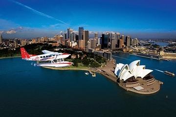 Voo panorâmico de hidroavião em Sydney