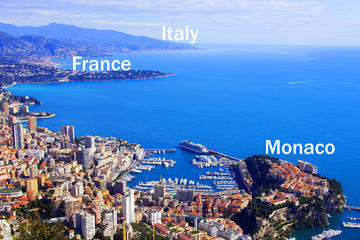 Villefranche Shore Excursion: Private Day Trip to French Riviera, Monaco and Italy Coast