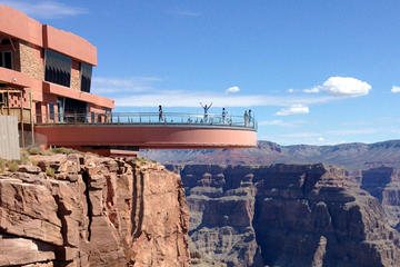 Grand Canyon West Rim Combinatie: luxueus terreinvoertuig, helikopter ...