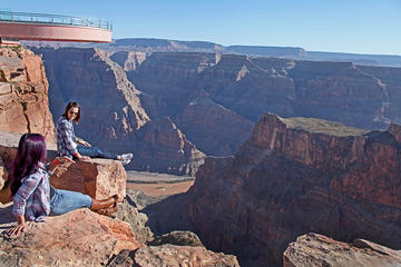 Day Trip Grand Canyon West Rim Combo: Luxury SUV, Helicopter and Boat near Las Vegas, Nevada