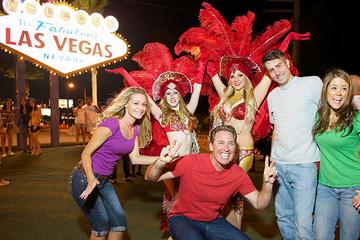 Visite nocturne de Las Vegas en jeep...