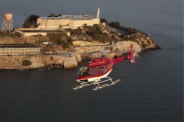Passeio de helicóptero por São Francisco e excursão à Alcatraz