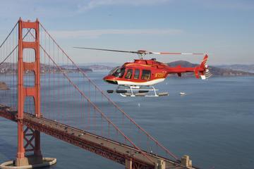 San Francisco– Großer Panoramarundflug mit dem Hubschrauber