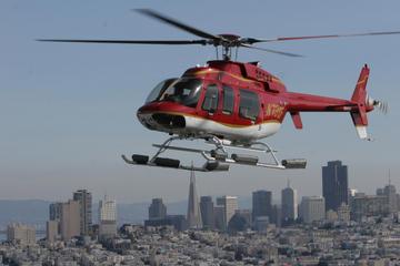 San Francisco, helikoptertur med udsigt