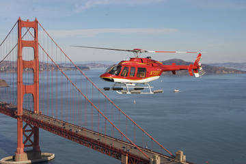Sightseeing med helikopter over San Francisco