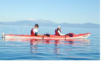 Half-Day Kayak to the Maori Carvings from Taupo