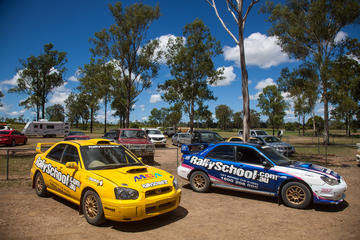 Ipswich Rally Car Drive 2 Car Blast 16 Laps and Ride