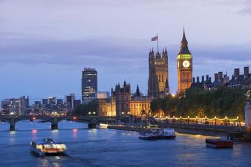 Crociera serale sul Tamigi a Londra