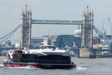 Cutty Sark und Besichtigungs-Bootsfahrt auf der Themse in London