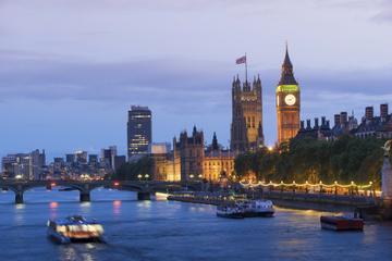 Kvällskryssning på Themsen i London