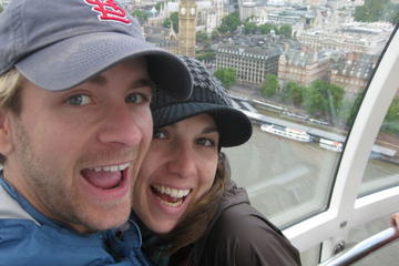 London Eye en sightseeingcruise op de Theems