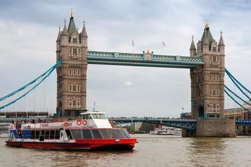Torre de Londres e Cruzeiro pelo rio Tâmisa