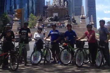 Excursão de bicicleta e gastronômica na Cidade do México