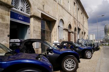 Day package: Self-Guided Margaux Medoc Tour in a Cabriolet Car plus Bordeaux 1h30 Sightseeing Tour in an Electric Vehicule