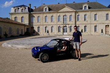 Saint-Emilion Full Day Self-Guided Cabriolet Tour with Wine Tasting...