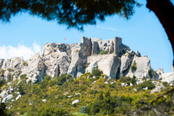 Excursão terrestre por Marselha: Excursão particular a Les Baux de...