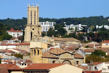 Excursão terrestre por Marselha: Excursão privada a Aix-en-Provence