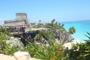 Tulum, Gran Cenote Swim and and Tankah Private Beach from Cancun