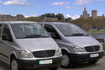 Traslado privado de chegada do Aeroporto de Marselha a Avignon