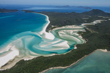 Whitehaven Beach, Hill Inlet Scenic...