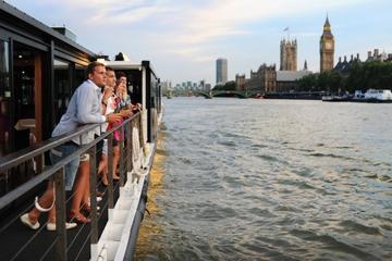 Dinercruise op de rivier de Thames in Londen
