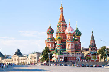Spaziergang in kleiner Gruppe in Moskau