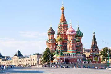 Visite de Moscou à pied en petit groupe